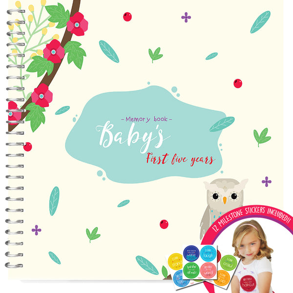 Baby Memory Books - First Five Years