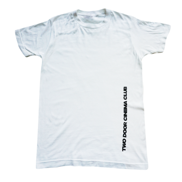 Side Name White Tee
