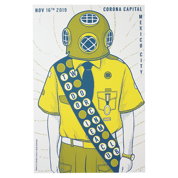 Corona Capital Silkscreen Poster [Limited to 10]