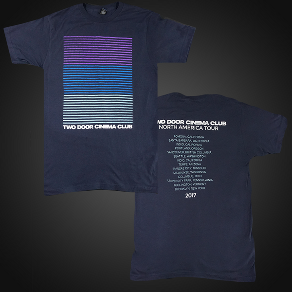 North America 2017 Tour Tee & Two Door Cinema Club US | Two Door Cinema Club US