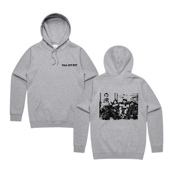 Take This To Your Grave Grey Hoodie