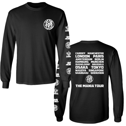 World Tour Black ICON Long Sleeve