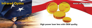 High Power Laser Lens, Laser Lenses, compatible with major OEM Trumpf, Amada, Bystronic and others