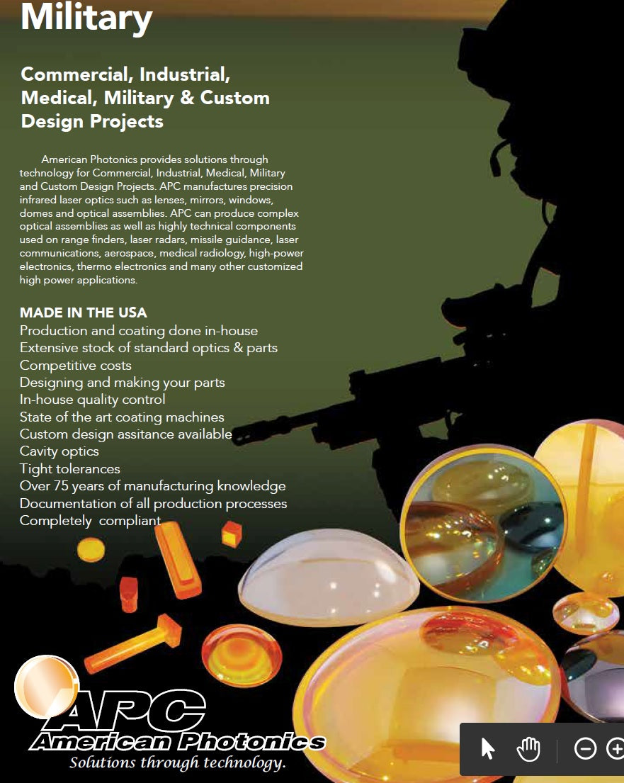American Photonics Military Projects