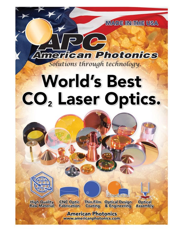 American Photonics the Best Co2 Laser Optics Manufacturer
