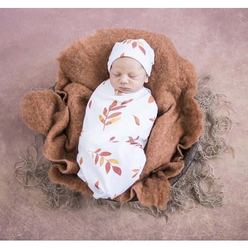 Wildfire Swaddle Sack & Beanie - Jessie's Baby Boutique
