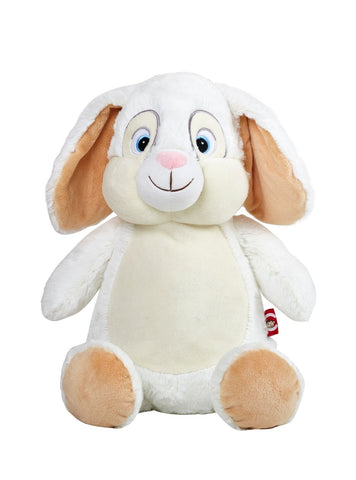 Personalised White Bunny - Jessie's Baby Boutique