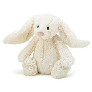 Personalised Bashful Bunny White - Jessie's Baby Boutique