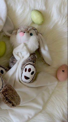 Personalised Bunny blanket - Jessie's Baby Boutique