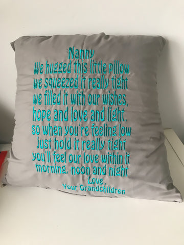 Personalised Mother's Day cushion - Jessie's Baby Boutique
