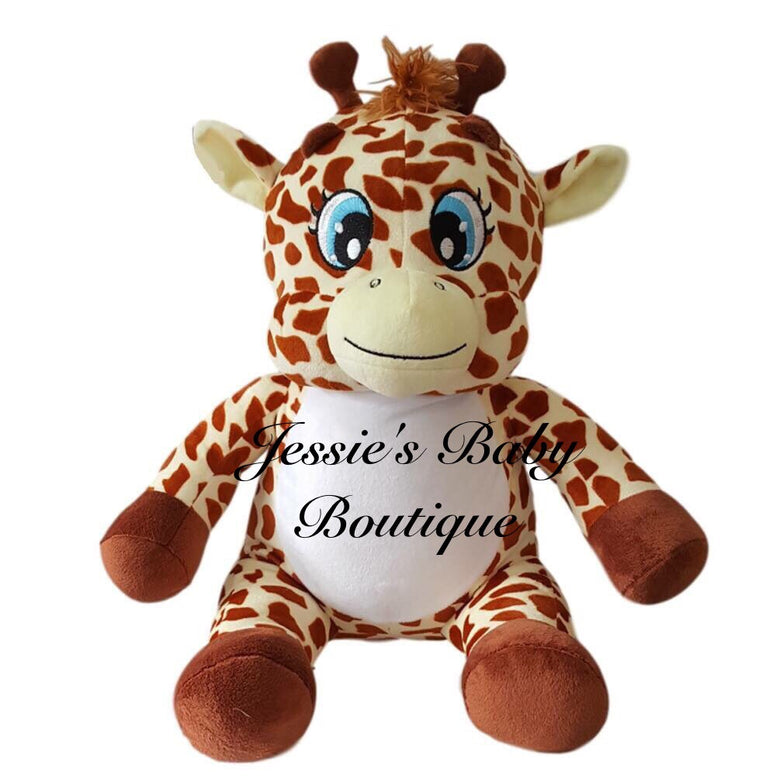 Personalised Giraffe - Jessie's Baby Boutique