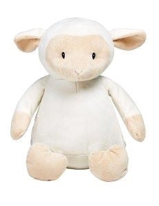 Personalised White Lamb - Jessie's Baby Boutique