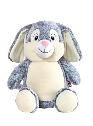 Personalised Grey Bunny - Jessie's Baby Boutique
