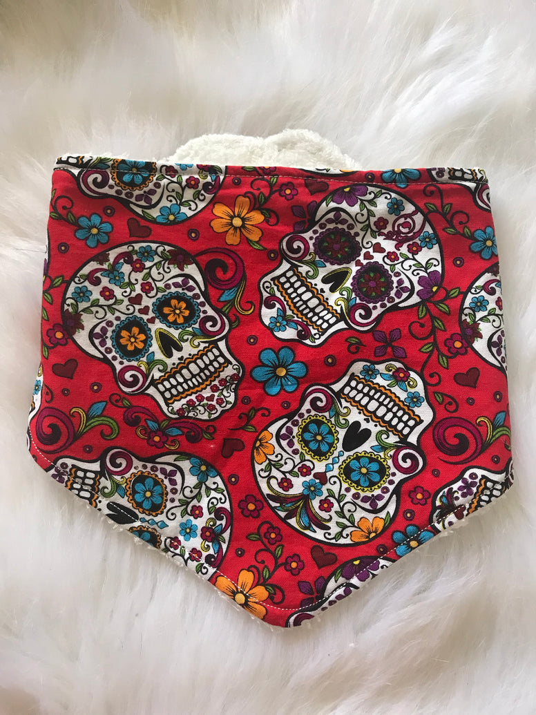 Sugar Skull Red - Jessie's Baby Boutique