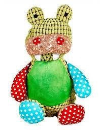 Personalised Harlequin Crocodile - Jessie's Baby Boutique
