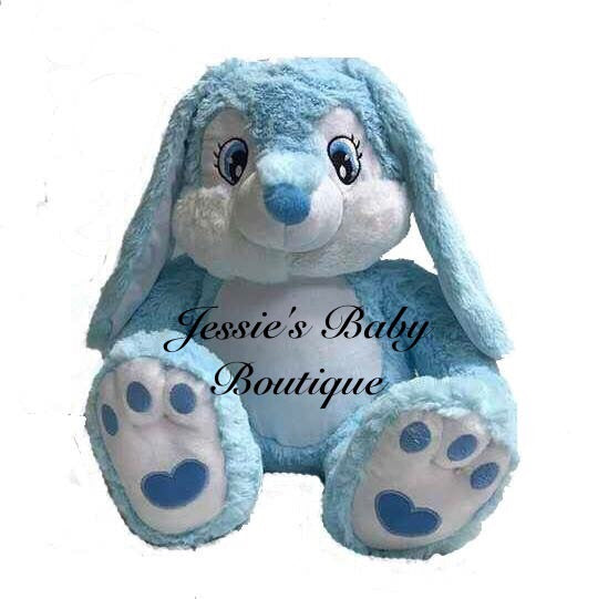 Personalised Blue Bunny - Jessie's Baby Boutique