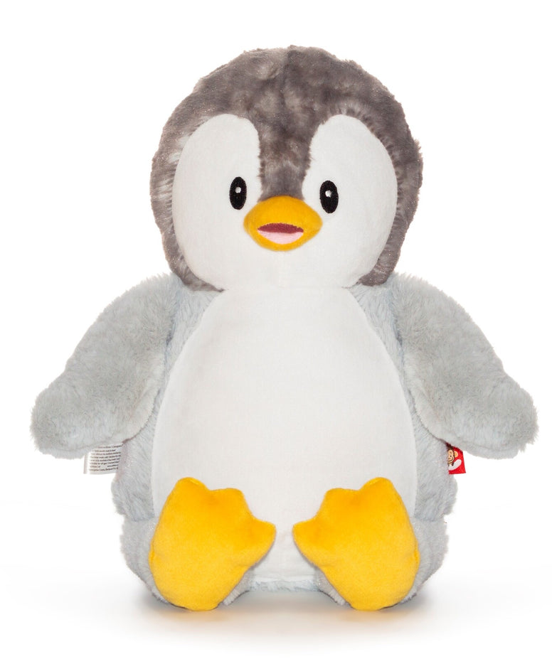 Personalised Penguin grey