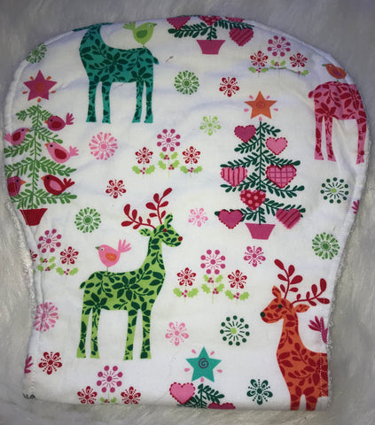 Christmas Burp Cloth - Jessie's Baby Boutique