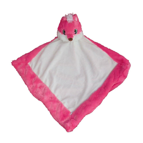 Personalised Pink Fox Blankie - Jessie's Baby Boutique