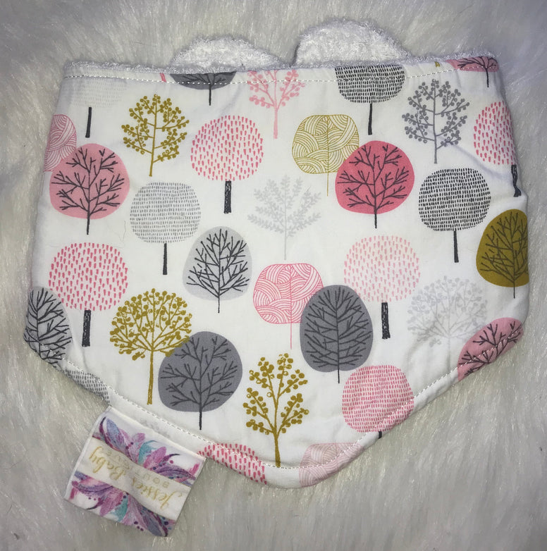 Trees Bib - Jessie's Baby Boutique