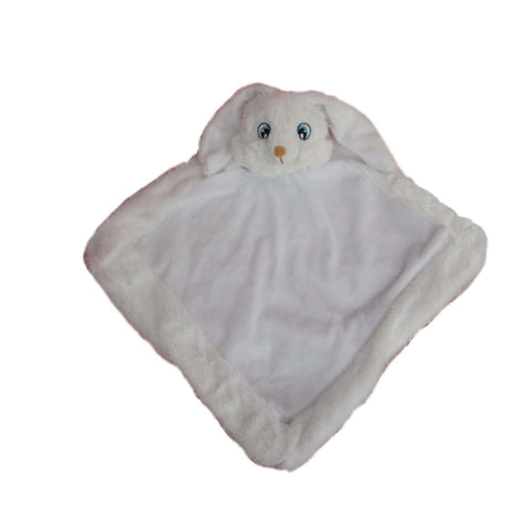 Personalised White Bunny Blankie - Jessie's Baby Boutique
