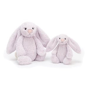 Personalised Bashful Bunny Lavender small