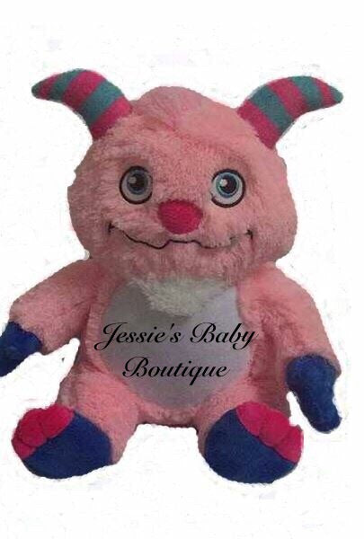Personalised Pink Monster - Jessie's Baby Boutique