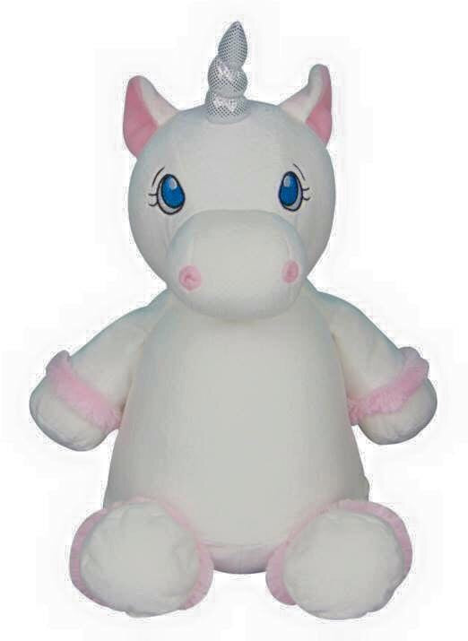 Personalised White Unicorn - Jessie's Baby Boutique