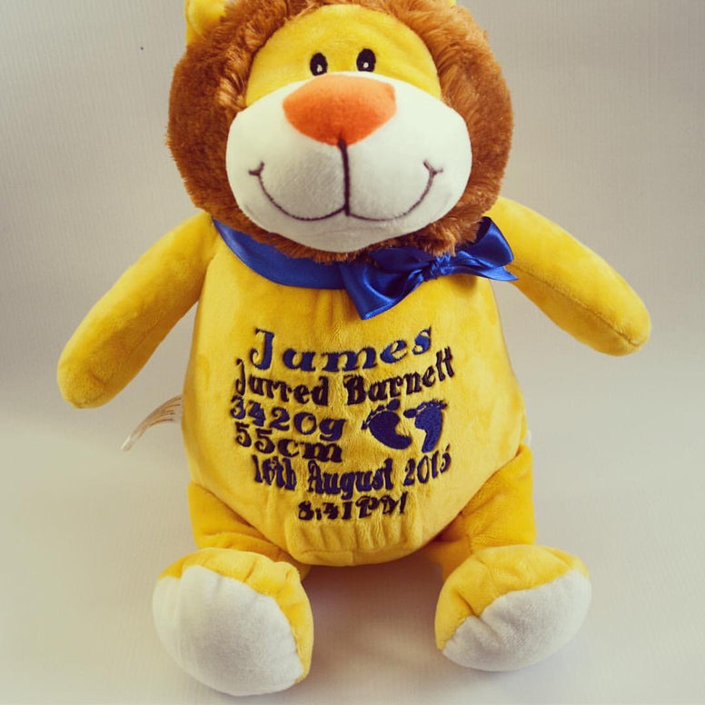 Personalised Lion - Jessie's Baby Boutique