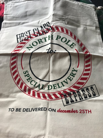 Personalised Christmas Santa sack - Jessie's Baby Boutique