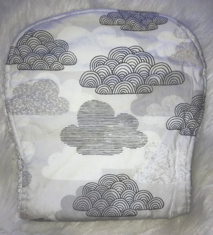 Cloud Burp Cloth - Jessie's Baby Boutique
