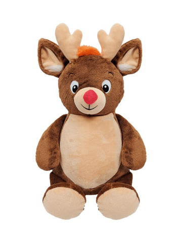 Personalised Brown Reindeer - Jessie's Baby Boutique