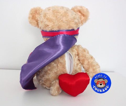 Personalised Bears of Courage Pink - Jessie's Baby Boutique