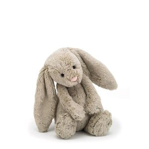 Personalised Bashful Bunny Beige small