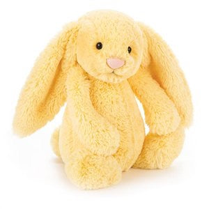 Personalised Bashful Bunny Lemon - Jessie's Baby Boutique