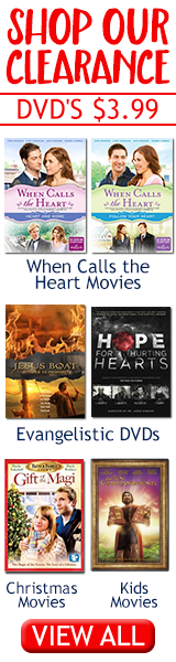 Christian DVDs starting at $4