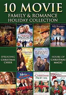 10 Movie Family and Romance Holiday Collection 3 DVD Set