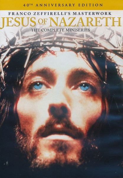 Jesus of Nazareth: The Complete 40th Anniversary Edition Miniseries DVD