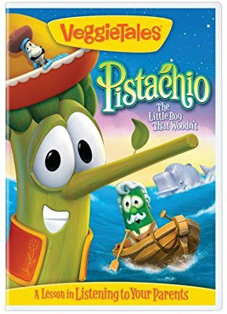VeggieTales: Pistachio The Little Boy That Woodnt DVD