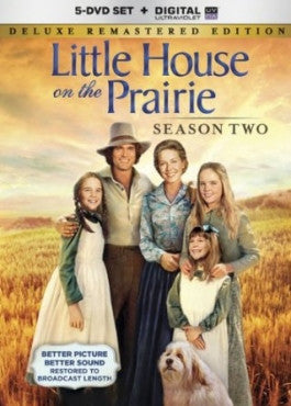Little House On The Prairie Season 2 Remastered 5 DVD Box Set
