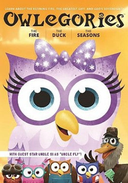 Owlegories Vol 3  - The Fire - The Duck - The Seasons - DVD