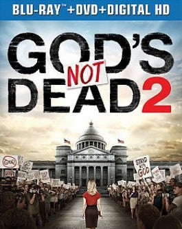 Gods Not Dead 2 Blu-ray DVD Combo