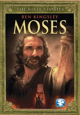 The Bible Stories: Moses DVD