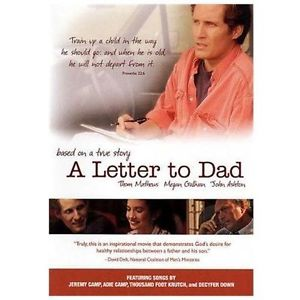A Letter To Dad DVD - Based on a True Story