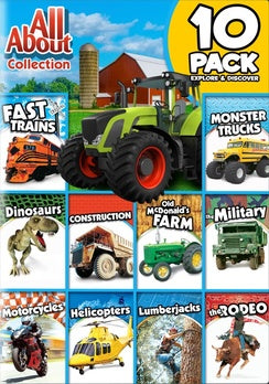 All About Collection 10 Pack Explorer & Discover