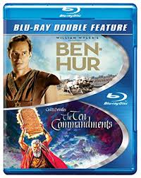 Ben Hur & The Ten Commandments Double Feature Bluray