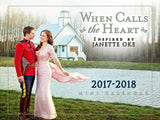 When Calls the Heart 2017-2018 Mini-Calendar (Sept 2017-Dec 2018)
