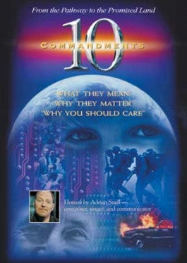 10 Commandments With Adrian Snell DVD