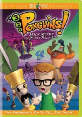 321 Penguins: Moon Menace on Planet Tell A Lie DVD