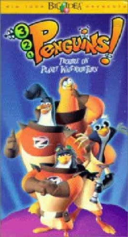 321 Penguins: Trouble on Planet Wait Your Turn DVD